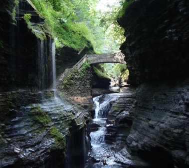 Watkins Glen State Park- Triple Cascades for CMoreNY